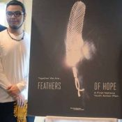 First Nations youth offer Feathers of Hope
