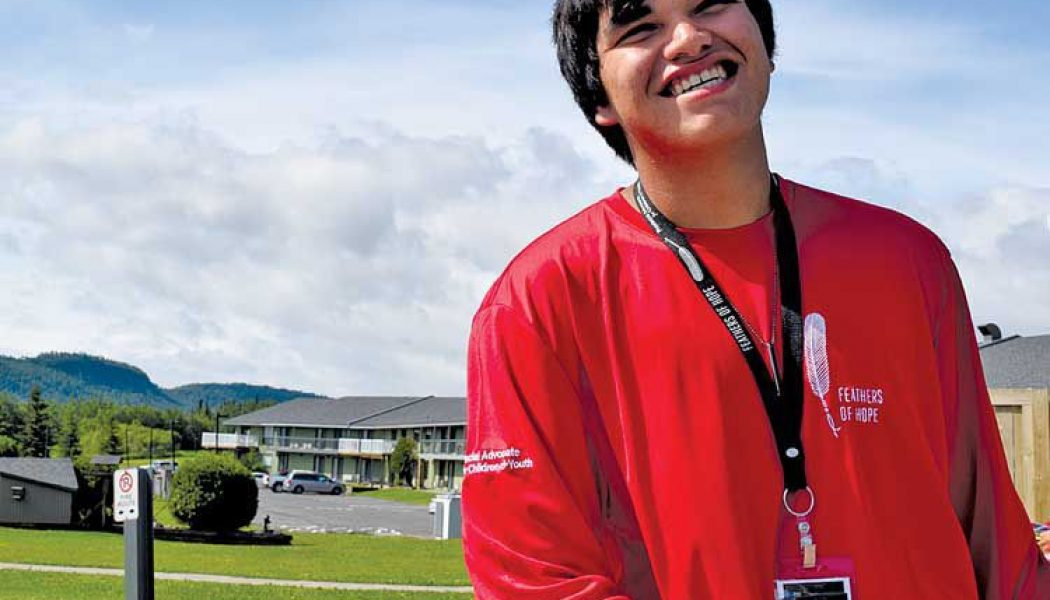 First Nation youth look for hope
