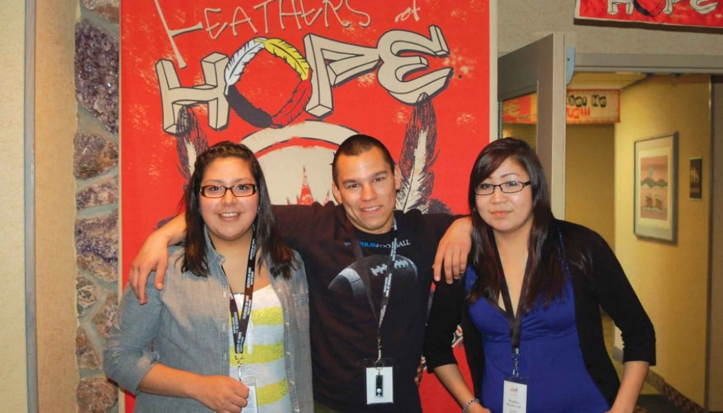 Feathers of Hope Attend AFN youth summit